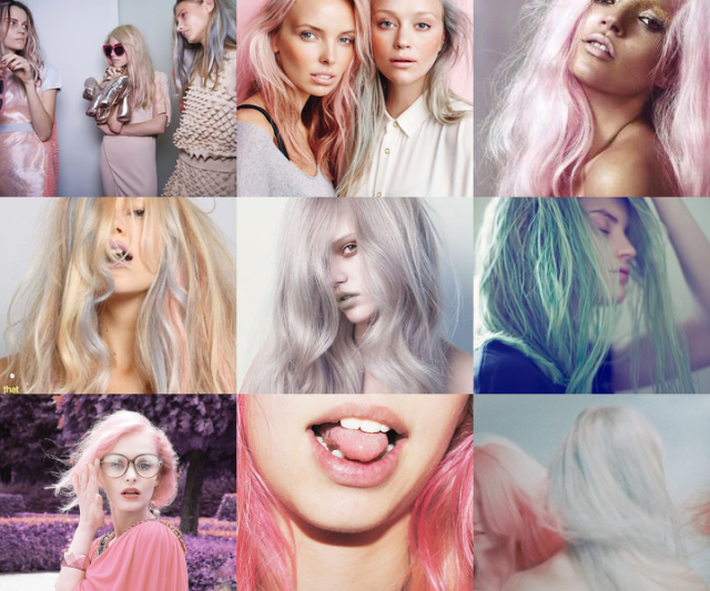 Pastel hair: sweet and sexy! Image Credit