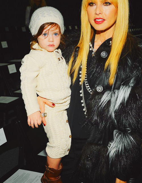 Rachel Zoe - Backstage - Fall 2013 Mercedes-Benz Fashion Week