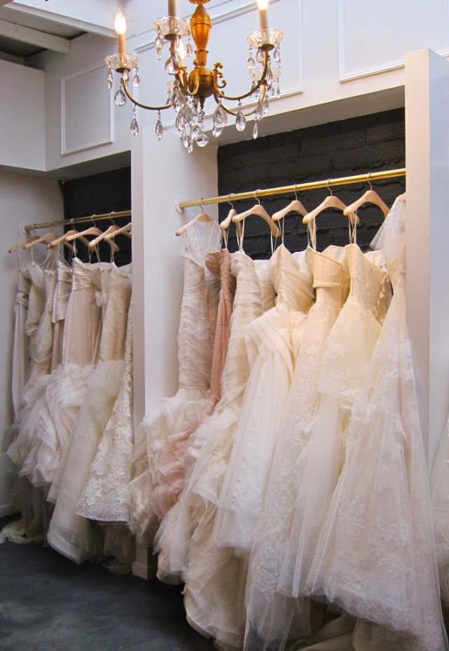 A peek at some of Vera Wang's iconic gowns. Photo Credit