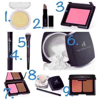 Blush & Lace highlights her favorite e.l.f. products and dupes!