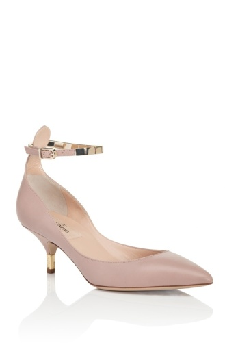 """These """"heels"""" are Valentino and I still can't stand them. Meow. Image via Moda Operandi."""