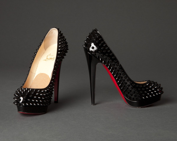 The ultra-glam Christian Louboutin Alti Spike Pumps. Bow down!