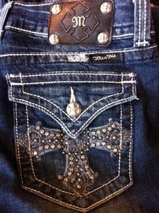 Pockets. Stitching. Rhinestones. I just...Can't. Image Credit