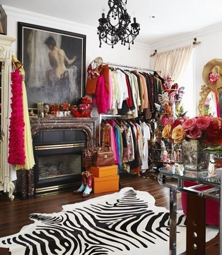 Olivia Palermo is living the dream! Completely infatuated with her closet. Photo via StyleCaster.