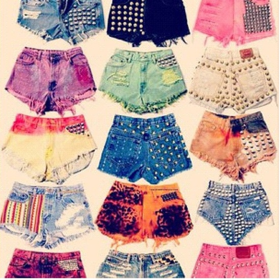 Shorts. Studs. Summer. Image Credit
