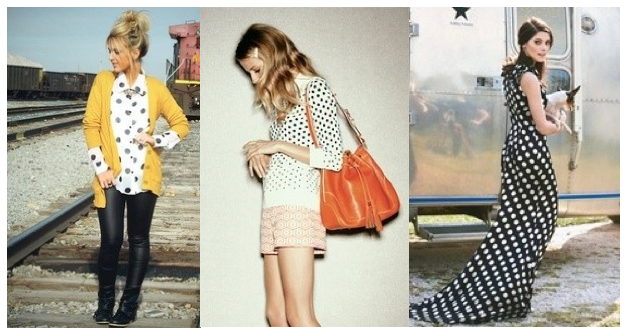 Dotty by nature: The polkadot trend done right!