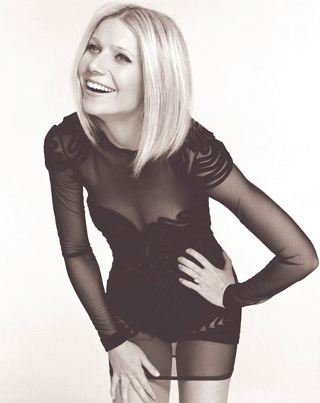 A snap of Ms. Paltrow from an issue of Elle UK. Check out the editorial on My Fashion Database.