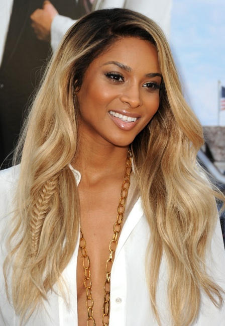 Random can be hot! Case in point: Ciara and the sneaky braid. Image Credit