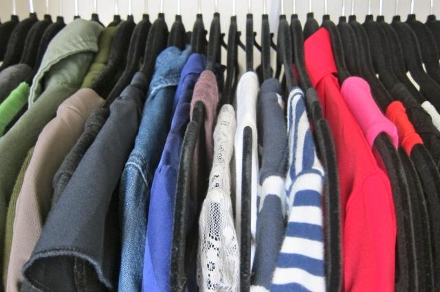 Rule #8: Velvet hangers, always. Image Credit