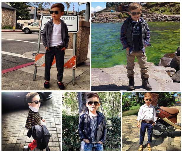 Kid's got style. Images via Alonso Mateo.