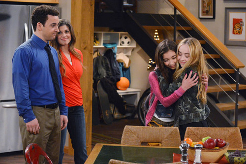 """AWW! Cory and Topanga look totally parental in this """"Girl Meets World"""" still! Image Credit"""