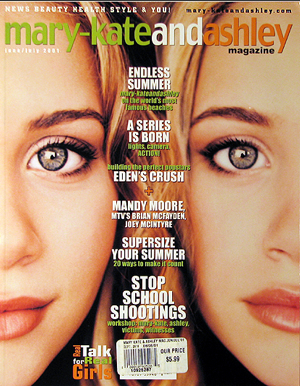 The short-lived (but amazing) Mary-Kate and Ashley Magazine.