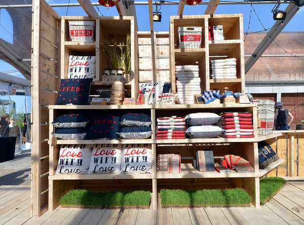 Guest were treated to this sneak peek at some of FEED's home and interior decor items at the FEED USA + Target June launch event. Image via Pinterest.