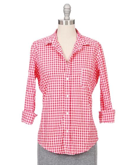 Frank & Eileen 'Barry' Gingham Shirt