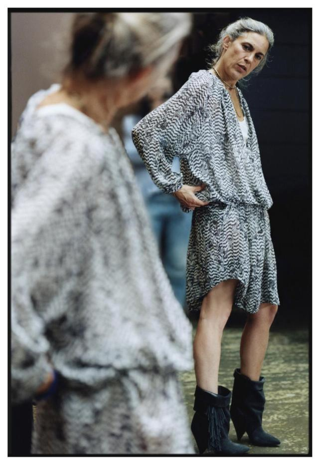 """#HMIsabelMarant"" - The photo we've all been waiting for! Image courtesy of H&M.  https://twitter.com/hm/status/354555939904421888/photo/1"