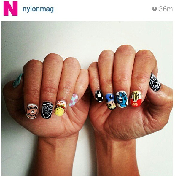 Image via Instagram - Fleury Rose Nails.