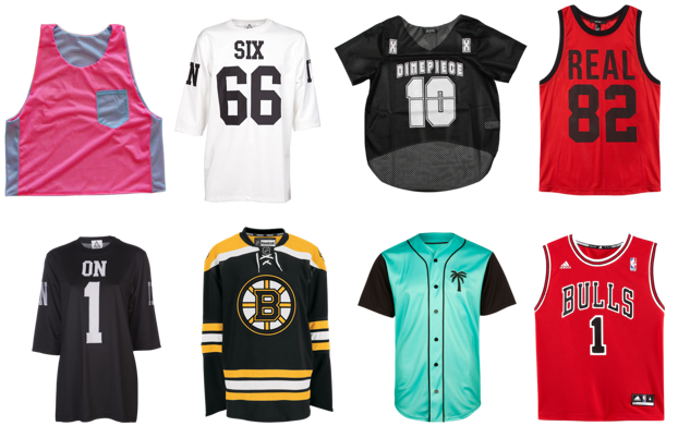 Need a jersey of your own? All of these are totally buyable. Click through for shopping & purchasing details!