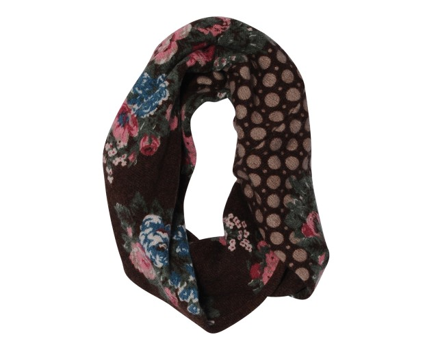 Madison 88 Floral Print Circle Scarf, via Mieux & Mieux.