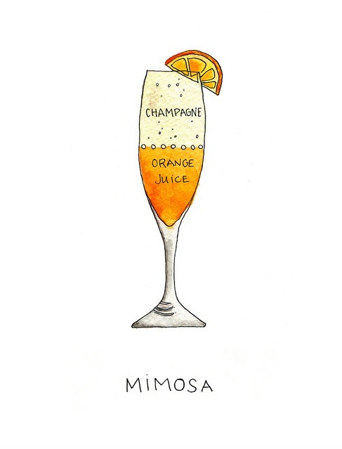 Thirsty Thursday: Classic Mimosas